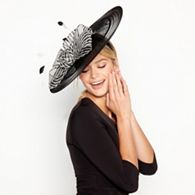 970cf9576d8 J by Jasper Conran - Black Stitch Bow Crin Disc Hat