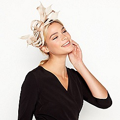 J by Jasper Conran - Natural 'Amy' Feather Band Fascinator