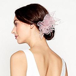 Debut - Pink organza hair clip