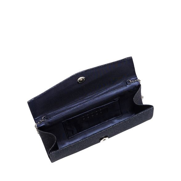 clutch bag glitter Navy Debut embellished wqPOpx4n