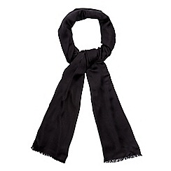 Debut - Black reversible pashmina scarf