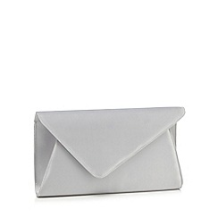 Debut - Grey oversized clutch bag