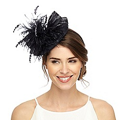 Principles by Ben de Lisi - Navy feather bow headband fascinator