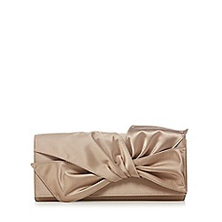 No. 1 Jenny Packham - Gold knotted clutch bag
