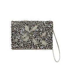 No. 1 Jenny Packham - Beige 'Elise' embellished clutch