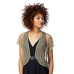 No. 1 Jenny Packham - Gold bead embellished shrug