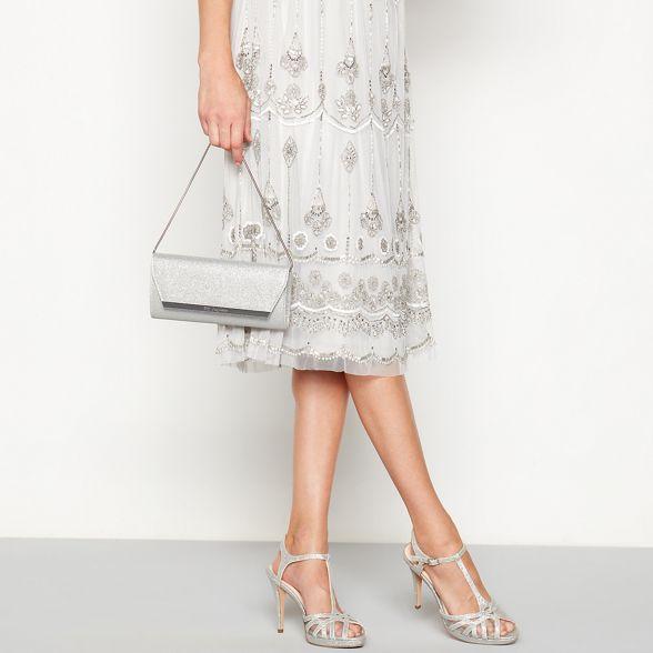 glitter 1 Silver Jenny Packham bag clutch No 6IP4xwqf