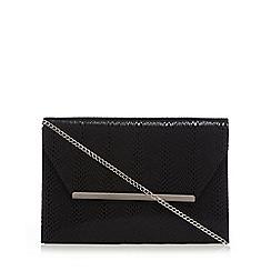 Star by Julien Macdonald - Black envelope clutch