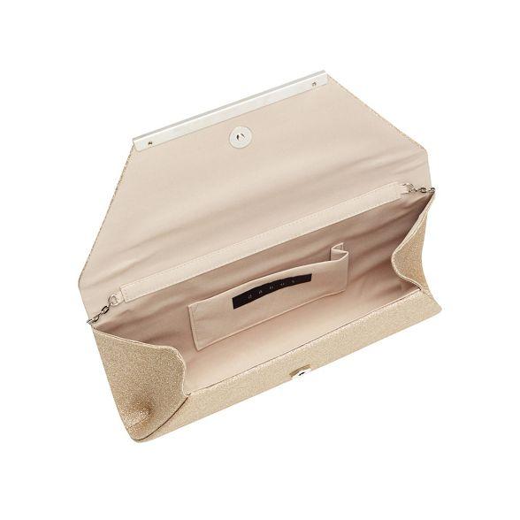 Debut bag envelope glitter Gold clutch rzqBrwax