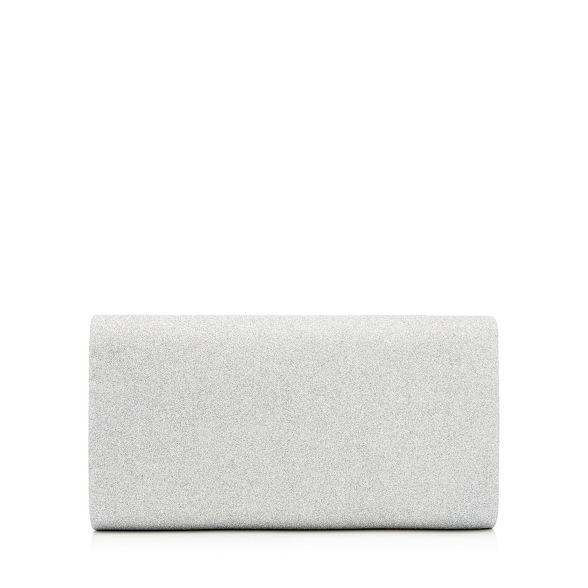 Silver Debut glitter envelope bag clutch YOROHq41