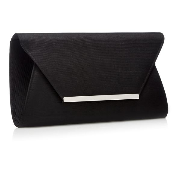 Black oversized clutch Debut envelope bag qYAxF0BF