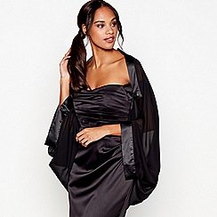 Debut - Black chiffon shrug