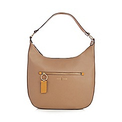 J by Jasper Conran - Camel zip detail saddle bag