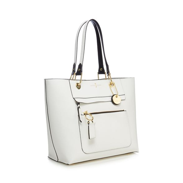 tote Conran Jasper by detail front White bag large J zip 6RO8w4q