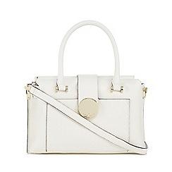 J by Jasper Conran - White 'Muswell' small grab bag
