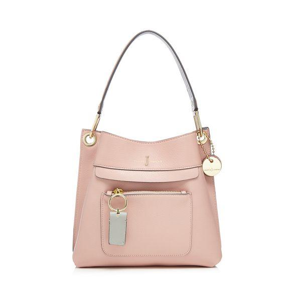 detail Jasper J Pink small zip Conran bag shoulder front by yY77cqTO