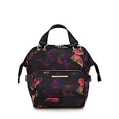 Red Herring - Multi-coloured butterfly print backpack