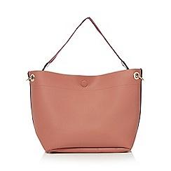 Red Herring - Pink bucket bag
