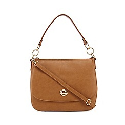 The Collection - Tan circle shoulder bag