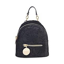 Faith - Black 'Pippa' backpack