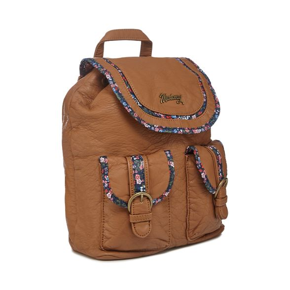 backpack Mantaray Mantaray floral trim Tan floral Mantaray backpack Tan trim Tan SwxP1