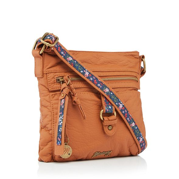 cross Light body buckle bag tan Mantaray vdwOItd