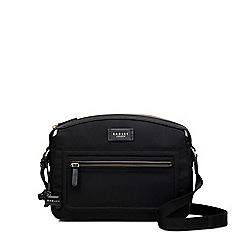 Radley - Spring park black medium domed cross body bag