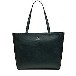 Radley - Greyfriars gardens green large zip-top tote bag