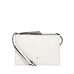 Fiorelli - Off white bunton double compartment crossbody bag
