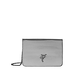 Fiorelli - Metallic nighttails large flapover shoulder bag