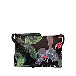 Fiorelli - Dark green bunton multi compartment crossbody bag