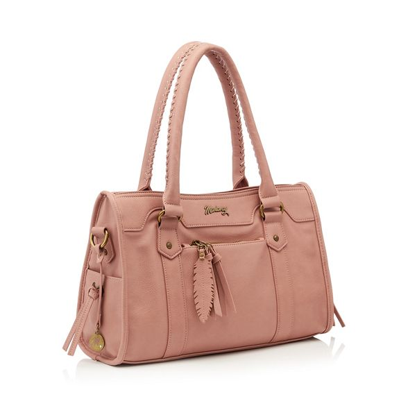 pink bag grab whipstitch Mantaray large Light gXTx5yq1