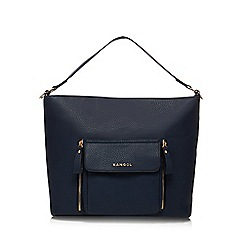 Kangol - Navy large shoulder bag