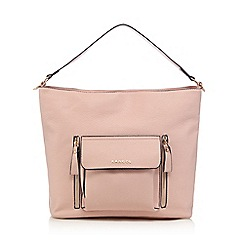 Kangol - Light pink large pocket shoulder bag