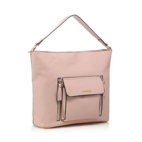 bag shoulder large pink Kangol pocket Light xwXa1pq