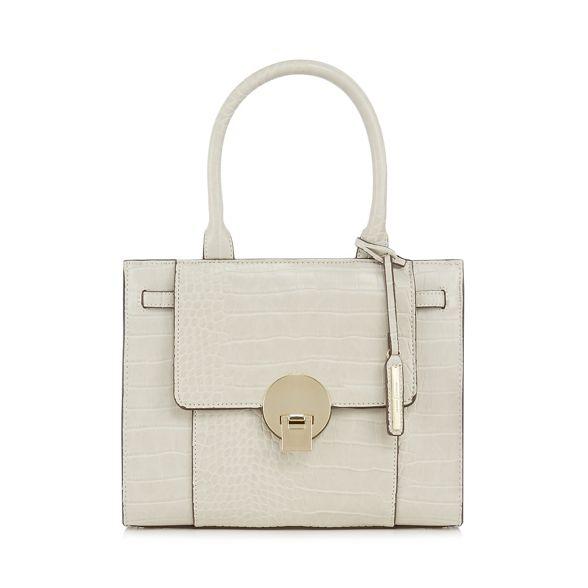 grab small Jasper Cream bag Conran J croc 'Knightsbridge' by effect aWS0nU8f