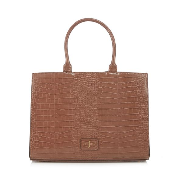 Jasper large effect 'Knightsbridge' brown grab Conran croc by Light J bag 5gnwHO8qw