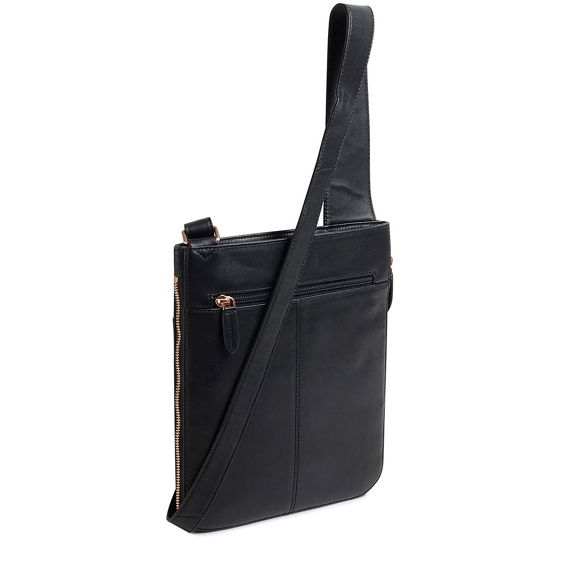 Black bag medium pockets Radley crossbody ziptop UqAxwd