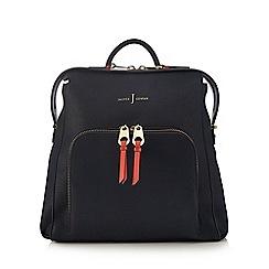 J by Jasper Conran - Navy front pocket backpack