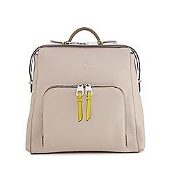 J by Jasper Conran - Grey front pocket backpack