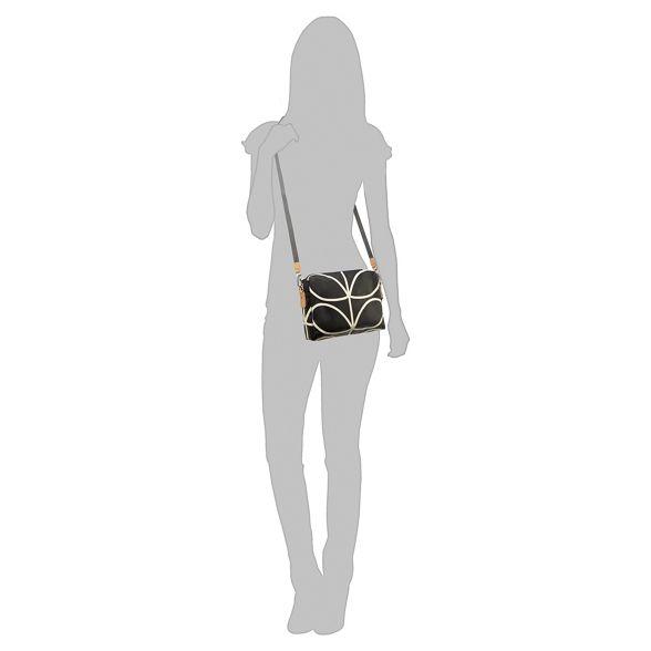 body Kiely print bag Orla 'Giant Black cross Stem' Linear gdd60wq