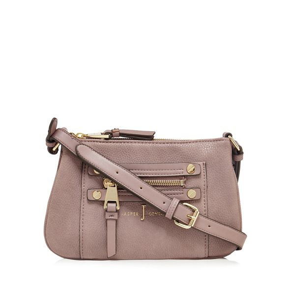 bag Jasper detail zip Conran pink J body by cross Light BqHOzzw