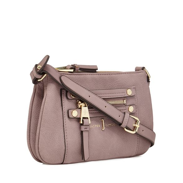 body Jasper zip pink Light J detail bag cross Conran by fwgZqRWRSF