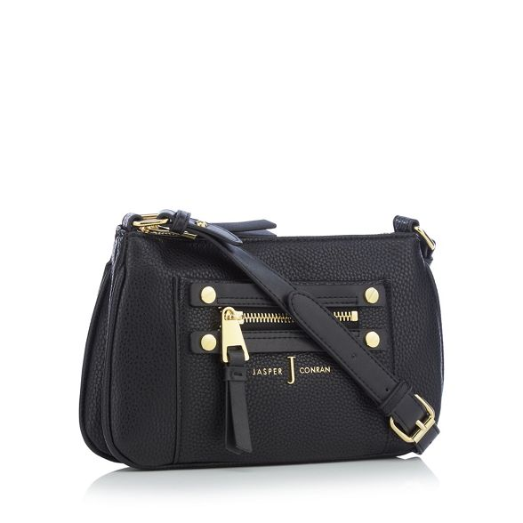 detail cross bag by body Black Conran Jasper J zip wZTXFq6