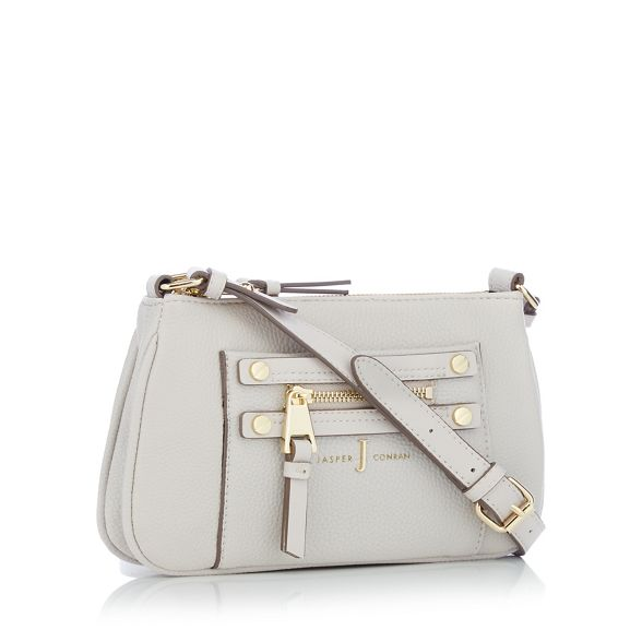 Jasper detail cross zip Conran J bag Grey by body X75zqA