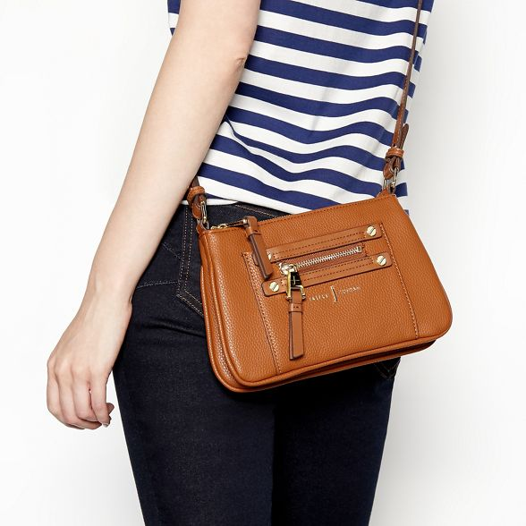 J Jasper zip cross body bag Conran Tan detail by FrSwqCF