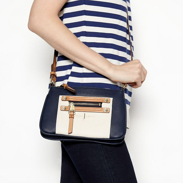 bag body zip by Conran detail Navy J Jasper cross pBnqg