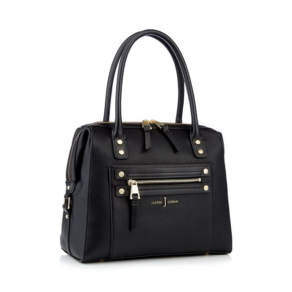 zip by detail bowler studded Conran J bag Jasper Black ZBxFfw