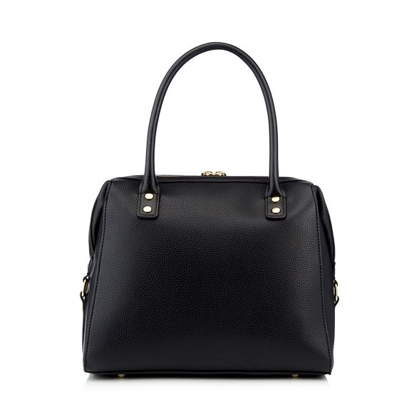 Jasper J studded bowler Conran Black zip detail bag by 4r45qIF