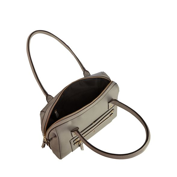 studded detail zip Conran Jasper bowler J bag Grey by YRgHqH